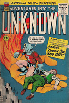 ADVENTURES INTO THE UNKNOWN #163 (1966) ACG Comics NEMESIS VG+ - $9.89