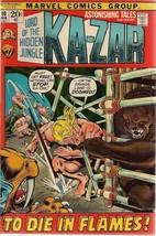 ASTONISHING TALES #10 KA-ZAR (1972) Marvel Comics VG+/FINE- - $9.89