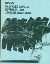NASA Film/Video Catalog November 1989 Johnson Space Center 148-pages - $12.86