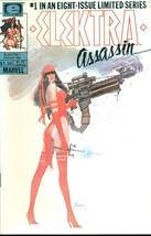 ELEKTRA: ASSASSIN mini series #1 #2 #3 #4 #5 #6 #7 #8 (1986>) Marvel Com... - $24.74