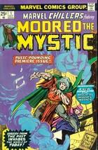 MARVEL CHILLERS #1 Mordred the Mystic (1975) Marvel Comics VG+ - $12.86
