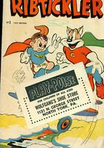 RIBTICKLER #3 (1959) Norlen Comics VG w/ promo sticker - $9.89