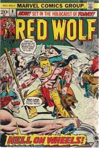 RED WOLF #8 (1973) Marvel Comics Gardner Fox story FINE - $9.89