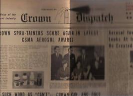 CROWN DISPATCH 1950's CC&S  advertising broadsheet - $9.89