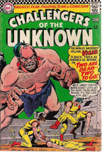 CHALLENGERS OF THE UNKNOWN #52 (1966) DC Comics  VG+ - $9.89