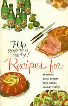 1961 7-UP SODA 16-page vintage recipe booklet - $9.89