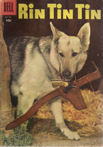RIN TIN TIN #11 (1956) Dell Comics photo cover VG+ - $14.84