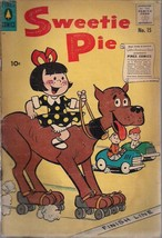 SWEETIE PIE #15  (1957) Pines Comics G/VG - $9.89