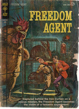 FREEDOM AGENT #1 (1963) Gold Key Comics GOOD - $9.89