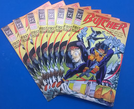 THE BUTCHER lot of (8) eight copies of #1 (1990) DC Comics FINE - $9.89
