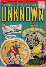 ADVENTURES INTO THE UNKNOWN #161 (1965) ACG Comics NEMESIS VG+ - $9.89
