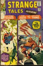 STRANGE TALES #133 Human Torch & Thing (1965) Marvel Comics Steve Ditko VG - $14.84