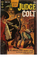 JUDGE COLT #1 (1969) Gold Key Comics VG+ - $9.89