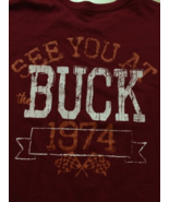 Buck Motorsports PA Cool T-Shirt Sz XL  See You at the Buck!  Great Piece!! - $15.98
