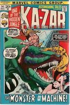 ASTONISHING TALES #14 KA-ZAR (1972) Marvel Comics VG+/FINE- - $9.89
