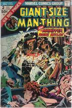 GIANT-SIZE MAN-THING #2 (1974) Marvel Comics VG+ - $9.89