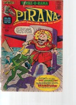 THRILL-O-RAMA #2 PIRANA (1966) Harvey Comics 2 pages of Al Williamson art - $9.89