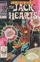 JACK OF HEARTS set (4) #1 #2 #3 #4 (1983) Marvel Comics FINE+ - $9.89