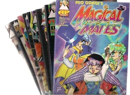 MANGA lot of (8) comics (Antarctic Press) Magical Mates Dodekain Vampire... - $9.89