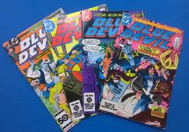 BLUE DEVIL lot (4) #4 #6 #8 #17 (1984/1985) DC Comics FINE - $9.89