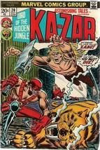 ASTONISHING TALES #20 KA-ZAR (1973) Marvel Comics FINE- - $9.89