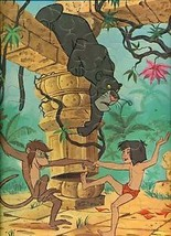 1967 Walt Disney The Jungle Book Frame Tray Puzzle - $14.84