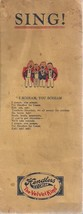 "HENDLERS ICE CREAM ""Sing"" 6-page booklet of songs (some are racial) circ... - $12.86"