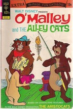 O'MALLEY AND THE ALLEY CATS #5 Aristocats (1972) Gold Key Comics w/catal... - $9.89