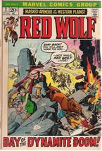 RED WOLF #2 (1972) Marvel Comics Gardner Fox story FINE - $9.89