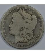 1898 S Morgan circulated silver dollar - $32.00