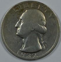 1932 S Washington circulated silver quarter VG/F details - $130.00