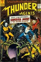 T.H.U.N.D.E.R. AGENTS #13 (1967) Tower Comics Wally Wood art VG+-FINE - $24.74