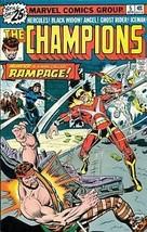 CHAMPIONS #5 (1976) Marvel Comics  Ghost Rider  VG+ ~ - $9.89