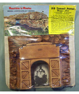 MOUNTAINS IN MINUTES SERIES HO SCALE TUNNEL PORTAL WOLFE'S COVE QUEBEC B... - $11.99