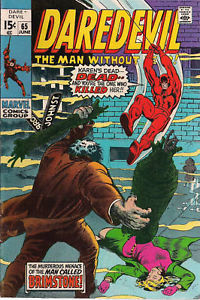 DAREDEVIL #65 (1970) Marvel Comics ~