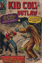 KID COLT OUTLAW #127 (1966) Marvel Comics Iron Mask  VG - $9.89