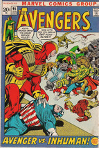 THE AVENGERS #95 (1972) Marvel Comics Neal Adams art FINE - $49.49