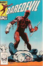 DAREDEVIL lot of (2) #200 & #208 (1983>) Marvel Comics Bullseye FINE - $9.89