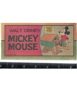 """Walt Disney MICKEY MOUSE #1 (1976) 16-page 3"""" x 6-1/2"""" color comic book - $9.89"""
