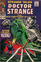 Strange Tales #166 Doctor Strange / Nick Fury Shield (1968) Marvel Comics Fine - $24.74