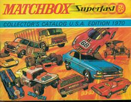 MATCHBOX 1970 64-page full color Superfast Collectors Catalog U.S.A. Edi... - $12.86