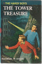HARDY BOYS The Tower Treasure by Franklin W Dixon (c) 1959 Grosset & Dun... - $9.89