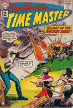 RIP HUNTER...TIME MASTER #6 (1962) DC Comics VG+ to FINE - $49.49