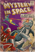 MYSTERY IN SPACE #55 (1959) DC Comics Adam Strange VG+ - $74.24