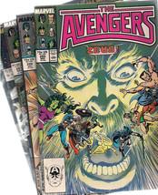 AVENGERS lot (5) #285 #286 #292  Annuals 16 & 22  (1987-1993) Marvel Comics FINE - $9.89