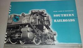 "1944 SOUTHERN RAILROADS Trains Album of Photographs 10"" x 14"" Kalmbach B... - $49.49"