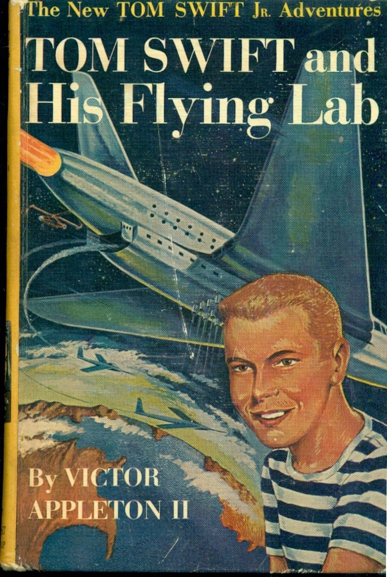 Primary image for TOM SWIFT & HIS FLYING LAB by Victor Appleton II  (c) 1954 Grosset & Dunlap HC Y