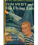 TOM SWIFT & HIS FLYING LAB by Victor Appleton II  (c) 1954 Grosset & Dun... - $14.84