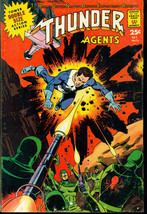 T.H.U.N.D.E.R. AGENTS #16 (1967) Tower Comic Wally Wood Gil Kane Steve D... - $24.74