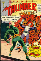 T.H.U.N.D.E.R. AGENTS #2 (1966) Tower Comics Wally Wood, A-bomb blast pa... - $39.59
